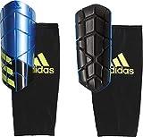 adidas Erwachsene X Pro Schienbeinschoner, Football Blue/Black/Solar Yellow, S