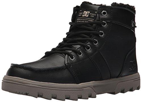 DC Mens Woodland Winter Boot Black/Tan
