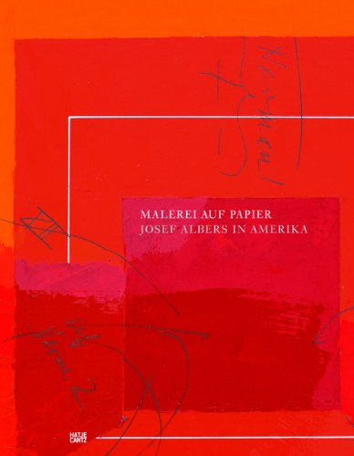 Malerei auf Papier. Josef Albers in Amerika Buch-Cover