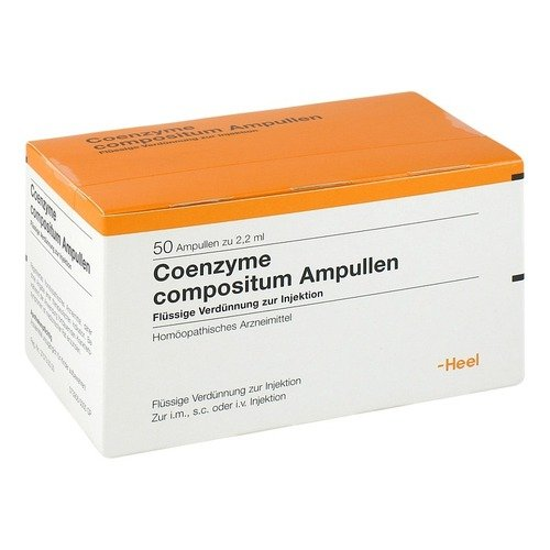 Coenzyme compositum Ampul 50 stk