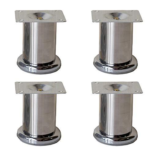 Piedini per mobili in Acciaio Inox Multi-Spec Tavolo Gambe Piede Divano Gambe gabinetto Gambe x4