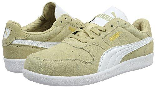 Puma Unisex Erwachsene Icra Trainer SD Sneakers, Beige (Pale Khaki Puma White 25), 36 EU