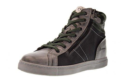 NERO GIARDINI chaussures junior espadrilles A734401M / 104 GREEN GRAY (35/39)