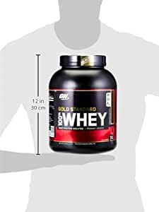 Optimum Nutrition Gold Standard 100% Whey Protein Powder, Double Rich Chocolate, 2.27kg