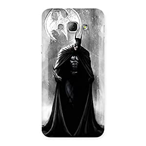 Delighted White Moon Knight Multicolor Back Case Cover for Galaxy A8