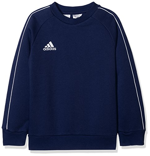 adidas Kinder Core18 SW Top Y Sweat-Shirt, Blau (dark blue/White), XL (13-14 Jahre) -