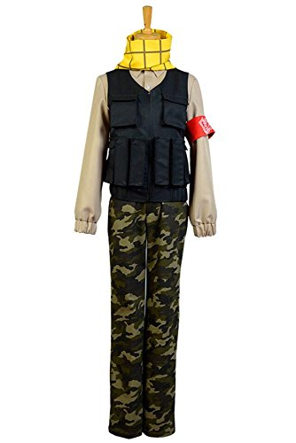 Aoharu x Machinegun Toru Yukimura Uniform Cosplay Kostüm Herren Schwarz S (Nakigitsune Kostüm)