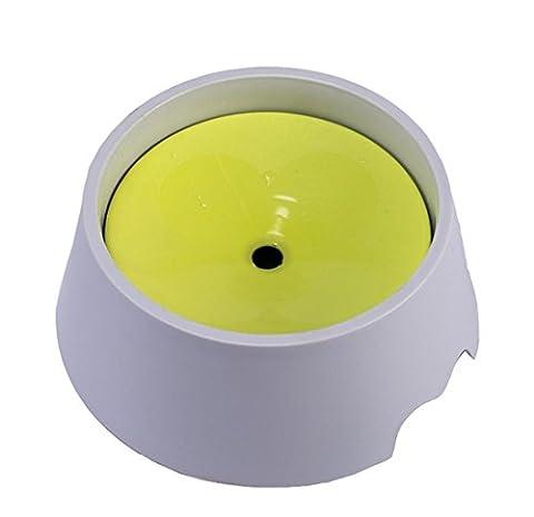 Pet No Wet The Water Dispenser Bowl, Empêcher Les éclaboussures D'eau, Pas De Chat Humide Dog Barbe Et Bouche