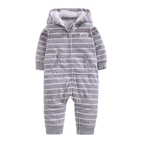 Fleece Junge Kostüm - Hibote Enfant Jumpsuit Baby Boy Mädchen Kleidung Fleece Strampler 12 24M Kinder Kostüme für Jungen Kleidung