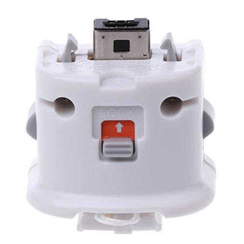 ringbuu 1Externe Motion Plus Adapter Sensor für Nintendo WII/WII U Remote Controller - Digital Plus, Component-video