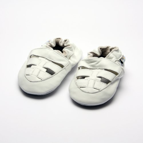 Jinwood designed by amsomo, Stivaletti bambine Bianco (sandal strap white soft sole)