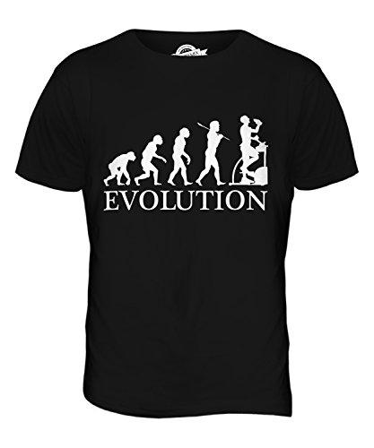 CandyMix Crosstrainer Evolution Des Menschen Herren T Shirt Schwarz