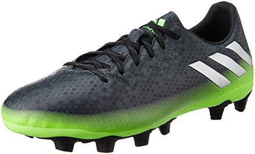adidas Herren Messi 16.4 Fxg Fußball-Trainingsschuhe Grau (Dark Grey/Silver Met./Solar Green) ifOJ1ZZx