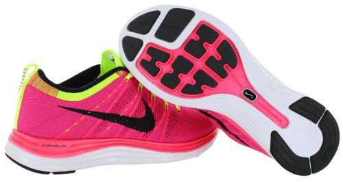 ... Nike Flyknit One+ Laufschuhe Damen pink/gelb