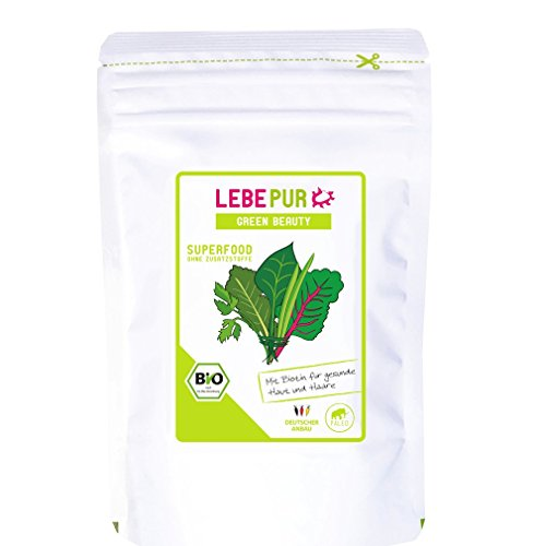 LEBEPUR - Green Beauty LEBEPUR, Grüner Smoothies, 100 g