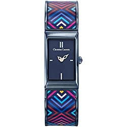 Killer Woman - Christian Lacroix - Watch - Steel Bracelet PVD Blue Lacquered Print - 8010208