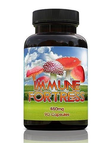 Forteresse Immune | 90 Capsules | 450mg par capsules