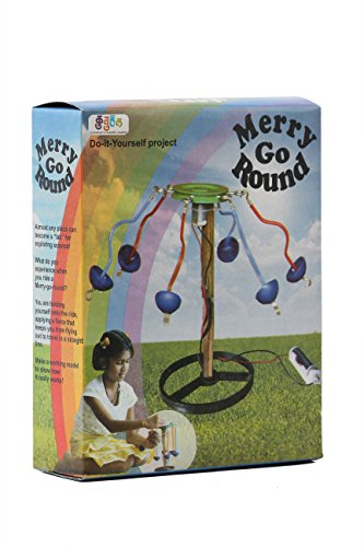 Kutuhal merry-go-round Making Kit. Do It Yourself. Educational Toy. School Project. DIY  available at amazon for Rs.273