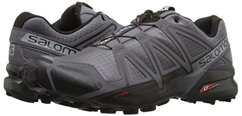 Salomon Speedcross 4 Running Shoes, Men's Size 9 (Grey)