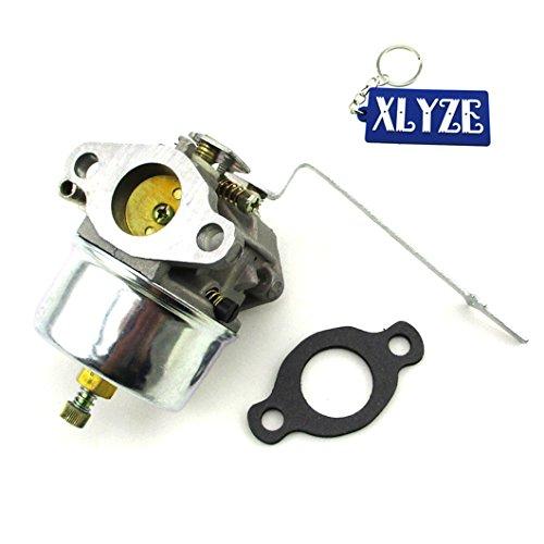 xlyze Vergaser mit Dichtung für Tecumseh Carb 631918HS404HP ca HS505HP Motor Rasenmäher Go Kart Buggy Mini Bike
