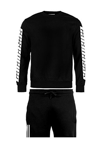Magic Custom Herren Trainingsanzug Gr. L, schwarz