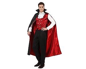 Atosa 96665 Disfraz vampiro rojo adulto M-L, talla hombre