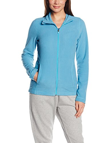 Sweatshirt Apparel Alternative (Intimuse Damen Sport Fleece Jacke, Blau (Blau), 44 (Herstellergröße: L))