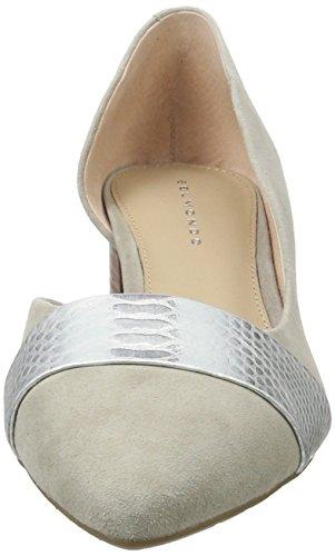 Belmondo Pumps-Damen, Chaussures Compensées Femme Gris