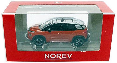 Norev–miniatura de coche Citroen C3aicross 2017(escala 1/64, 310807, Naranja/Blanco