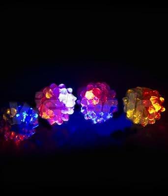 1 Bague lumineuse LED LumiBague lumineux - Idéal pour vos soirées fêtes