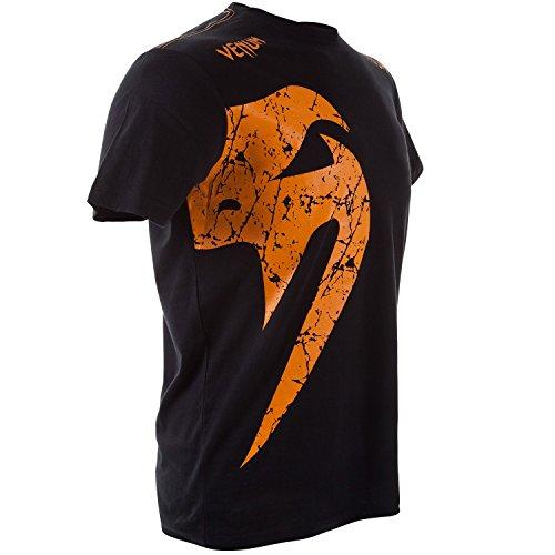 Venum Erwachsene T-Shirt Giant Schwarz / Orange