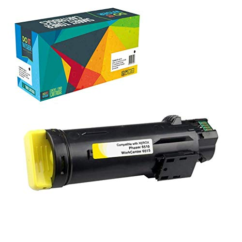 Do it Wiser Toner Kompatibel 106R03479 für Xerox WorkCentre 6515DN 6515 6515DNI 6515DNM 6515N | Phaser 6510 6510DN 6510DNI 6510DNM 6510N - Gelb
