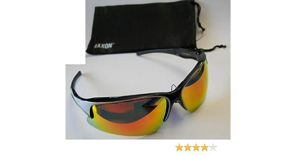 Jaxon Polarisationsbrille verspiegelt Rot Polbrille Brille Angelbrille Sonnenbrille Pol Brille O8oJprU