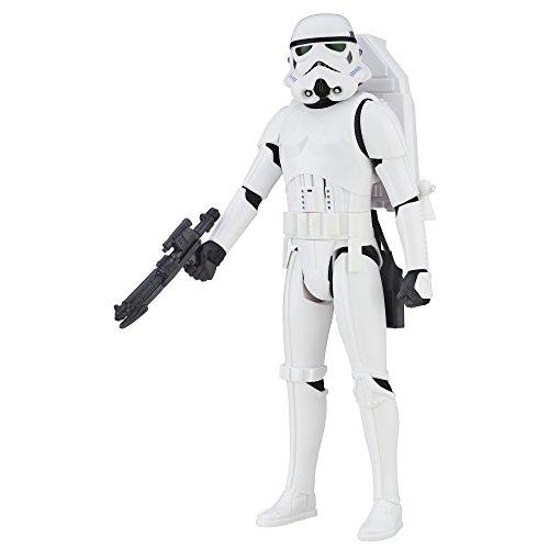 Star Wars - Figura Rogue One, Stormtrooper Interactivo, 30cm (Hasbro B7098)
