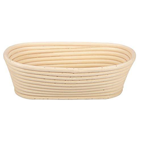 Fanyong Oval Brotfermentation Rattankorb Dough Proofing-Gebäck-Speicher-Korb (Oval-speicher-körbe)