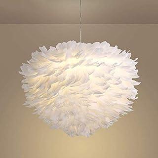 AME Beleuchtung Kronleuchter Salon Feder Einfache Moderne Kinderzimmer Pastoralen Lampe Hot Chandelier Lamp Mode von Schlafzimmer Restaurant Bar Kronleuchter,60 * 35cm