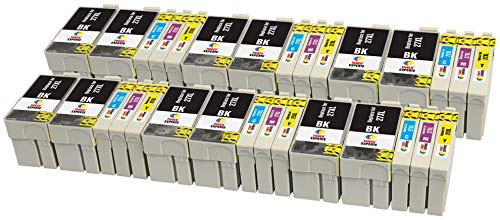27XL 27 XL TONER EXPERTE 30 Cartuchos de Tinta compatibles con Epson Workforce...