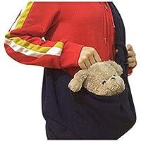 Pet Carrier Bag Viaggio Pet Dog Messenger Bag Xagoo cucciolo banda Sling Bag Cat vettori Bag Zaini (nero)