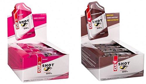 CLIF - Shot Energie-Gel Razz - 34g (Power Flüssig Bar)