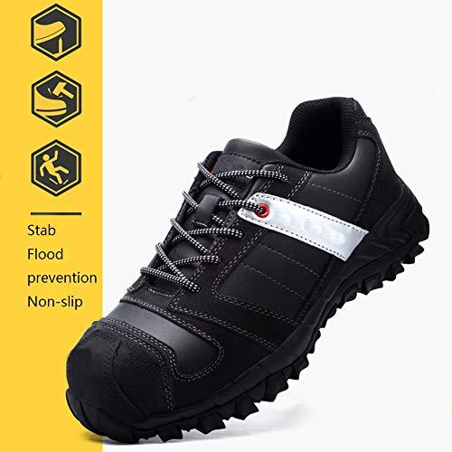 Niedrig, um zu helfen, Schuhe Stahlkappe Anti-Smashing Anti-Piercing-Arbeitsversicherung Schuhe Männer vor Ort Fußschutz Sicherheitsschuhe bequem atmungsaktiv Nicht stinkend feet40-48,39
