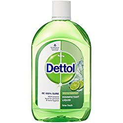 Dettol Disinfectant Multi-Purpose Liquid Lime Fresh- 500 ml
