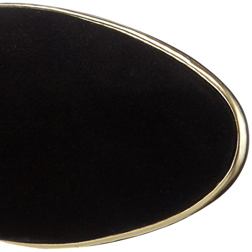 Giudecca Ab28, Bottes hautes (sur genoux) avec doublure froide femme Noir - Noir