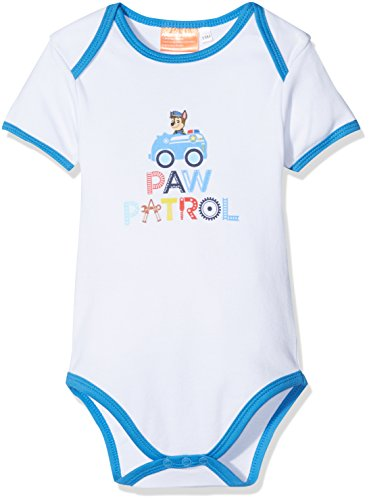 Nickelodeon Baby Boys' Paw Patrol Small Car Bodysuit