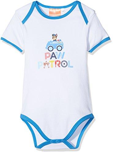 Nickelodeon-strampler (Nickelodeon Paw Patrol Baby Jungen Body (3 Monate, Weiß))