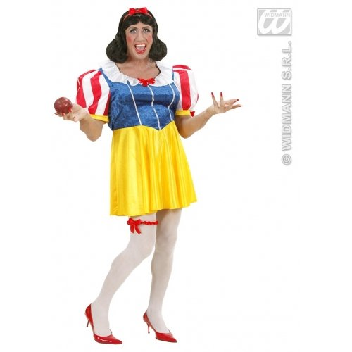 XL Damen-Kostüm Prinzessin Fairyland für Transsexuelle Transvestite Kreuz Kommode Fancy Dress), EU (Kostüme Play Cross)