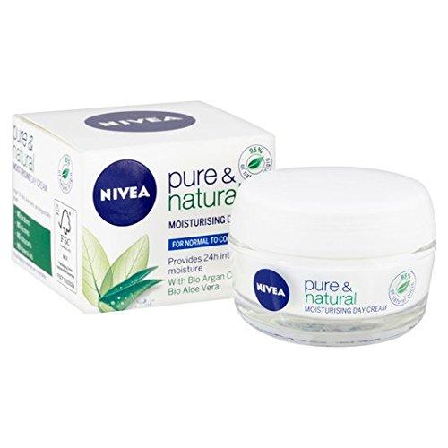 Crème de jour Pure & Natural Nivéa (Normal/Combination) 50ml