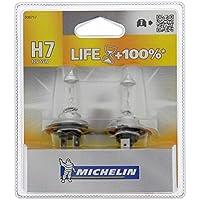 Michelin 008717 Life +100% 2 Ampoules H7 12 V 55W