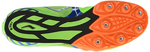 Saucony Velocity 5 Veste de running Spike Green/Blue/Orange