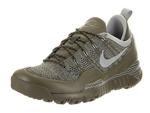 Mica-elf (Nike Men's Lupinek Flyknit Low Cargo Khaki/Mica Green Casual Shoe 11 Men US)
