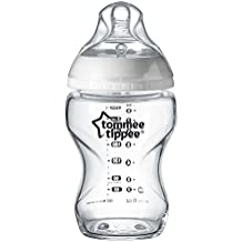 Tomee Tippee Closer to Nature - Biberón de vidrio